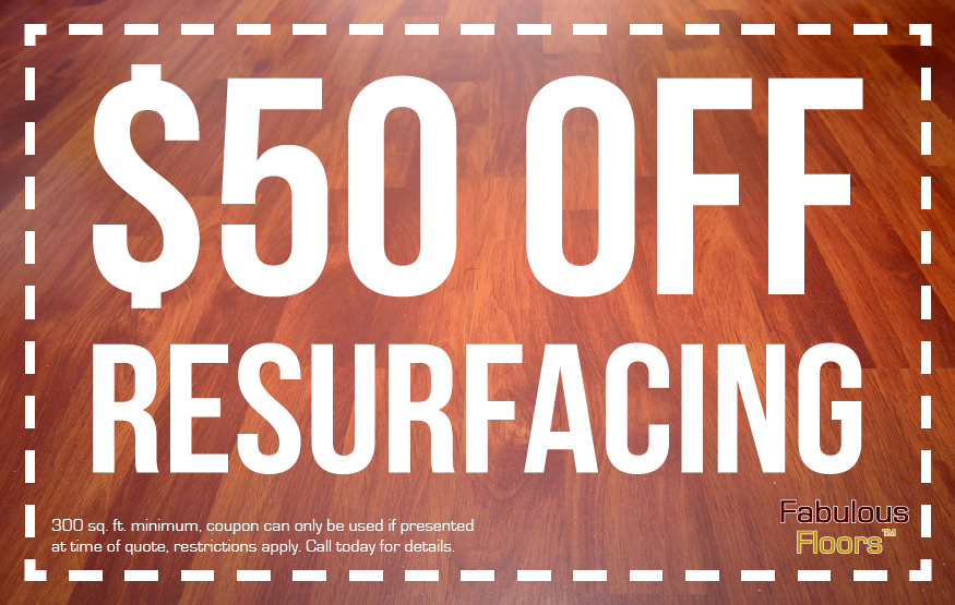 $50 off floor resurfacing coupon