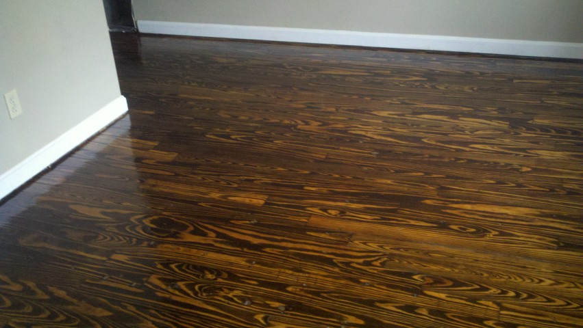 refinished hardwood flooring in the Pittsburgh area