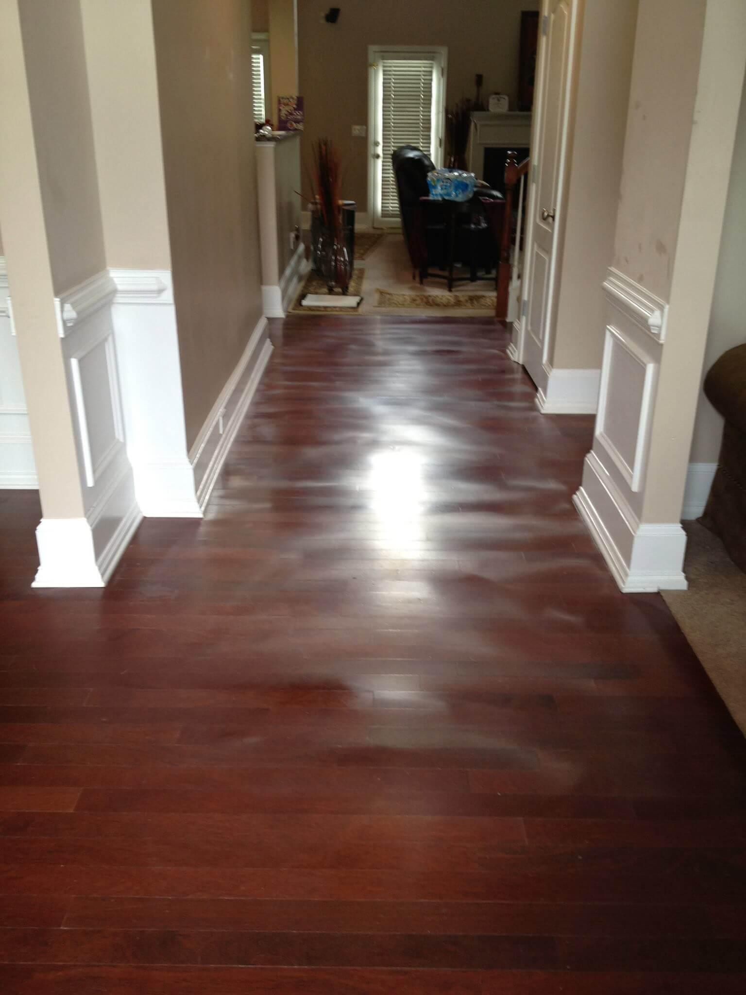 warped hardwood flooring