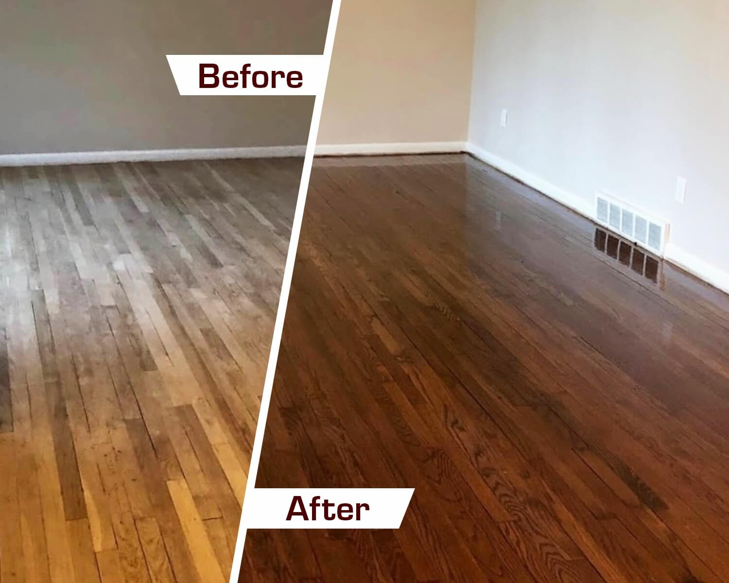 Refinish wood floors in Pittsburgh, PA