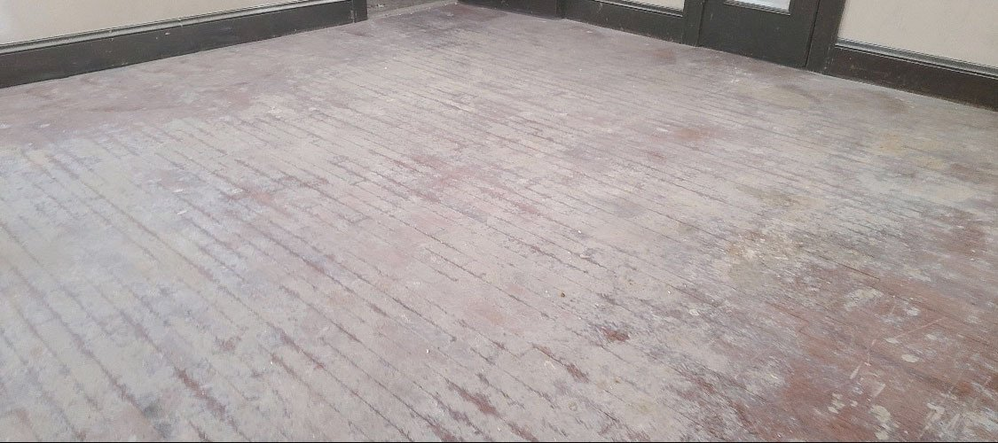damaged hardwood flooring
